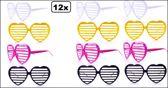 12x Bril luxaflex hart model assortie kleur