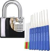Oefen LockPick Set | Beginners Slot | Transparant Oefenslot | Uitgebreide Set