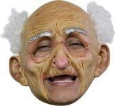 Masker (Kinloos)(Latex) Oldman Deluxe
