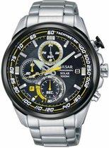 Pulsar PZ6003X1 horloge heren - zilver - edelstaal