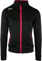 Robey Women Striker Trainingsjack - Voetbaljas - Black/Fuchsia - Maat L
