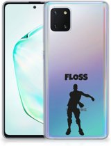 Samsung Galaxy Note 10 Lite Telefoonhoesje met Naam Floss