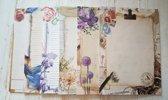 Set met 6 schrijfblokken - A4 formaat gelinieerd papier