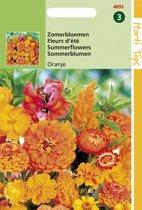 Hortitops Zaden - Zomerbloemen Oranje Tinten