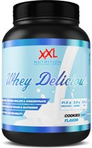 XXL Nutrition Whey Delicious Eiwitshake - Proteine - 1000 gram - Cookies and Cream