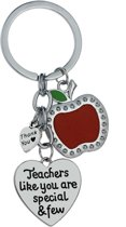 Sleutelhanger | Teachers like you are special & few | voor juf