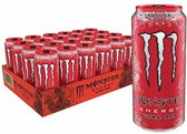 Monster Energy Ultra 12x 500ml Red