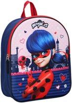 MIRACULOUS Ladybug & Cat Noir 3D Rugzak Rugtas School Tas 2-6 Jaar