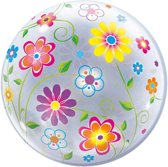 Flowers Bubbles Ballon 56cm