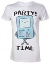 ADVENTURE TIME - T-Shirt Beemo Party Time (S)