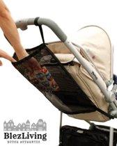 Boodschappen netje kinderwagen - Buggy Netje - Zwart