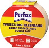 Perfax Tweezijdig Kleefband Rol - 24 mm x 10 m