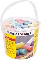 Stoepkrijt Eberhard Faber emmer met 20 krijtjes