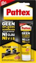 Pattex Montagelijm - Geen Spijkers/Geen Schroeven - Montage lijm- 50 Gram