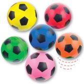 Hoog stuiterende voetballen  (6 stuks per verpakking)