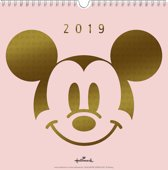 Weekkalender 2019 - Mickey Mouse (21cm x 21cm)