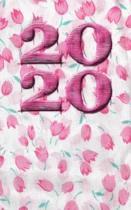 2020 Pink Flowers Journal
