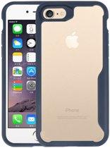 Focus Transparant Hard Cases voor iPhone 7 / 8 Navy