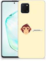 Samsung Galaxy Note 10 Lite Telefoonhoesje met Naam Monkey