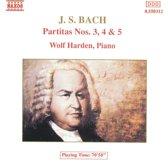Bach: Partitas no 3, 4 & 5 / Wolf Harden