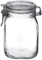 Glazen weckpot 1 Liter