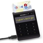 Reiner SCT cyberJack go smart card reader Zwart USB 2.0