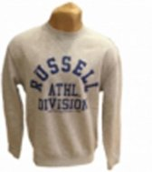 Russell Athletic sweater ronde hals Bright Grey