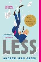 Boek cover Less van Andrew Sean Greer