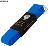 Yamkas Yoga Strap Kobalt Blauw 183cm - 100% Katoen