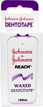 Johnson & Johnson dento tape 100 meter 2 stuks