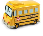 Silverlit Robocar Poli - Diecast Schoolbus 7 Cm Geel