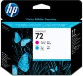 HP 72 - Inktcartridge / Magenta / Cyaan (C9383A)