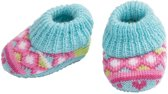 Heless Poppensloffen Blauw/roze 35-45 Cm