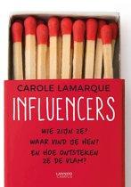 Boek cover Influencers van Carole Lamarque