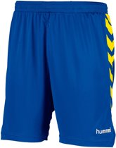 Hummel Burnley Voetbal Short - Shorts  - blauw kobalt - 140