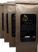 Zwarte thee pakket| 4x 50 gr | Losse Thee | Darjeeling Second Flush | Kokos | Kruidnagel - Kaneel | Sinaasappel - Kaneel|De Gouden Kat