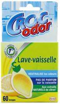 CROC ODOR Vaatwasmachineverfrisser - citroengeur - 60 wasbeurten