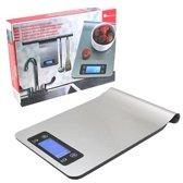 Impuls Elektronische Keukenweegschaal - Digitale Keukenweegschaal - Tot 5000 Gram ( 5kg ) - Incl. Batterijen