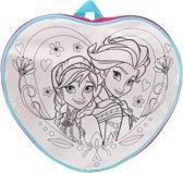 Disney Frozen - Kinder Rugzak - Unieke kleurplaat + viltstiften - 28 x 28 cm