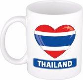 Hartje Thailand mok / beker 300 ml
