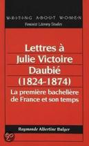 Lettres a Julie Victoire Daubie (1824-1874)