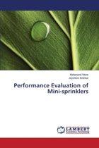 Performance Evaluation of Mini-Sprinklers
