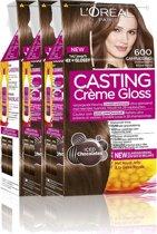 L'Oréal Paris Casting Crème Gloss 600 - Donkerblond - Haarverf