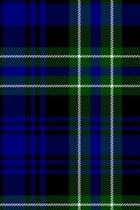 Clan Arbuthnot Tartan 100 Page Lined Journal/Notebook