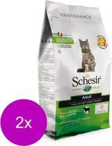 Schesir Cat Dry Maintenance Lam - Kattenvoer - 2 x 1.5 kg