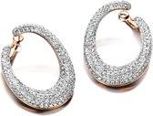 Velini jewels -EA6488R -Oorbellen -925 Zilver rosé -Cubic Zirkonia