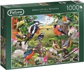 Falcon Birds for All Seasons - Puzzel - 1000 stukjes