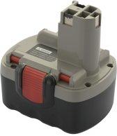 Accu 2 607 335 264 & 2 607 335 276: Bosch - 14,4V, 3000 mAh / 3.0Ah: Ni-Mh - ToolBattery Huismerk TA6004