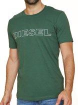 Diesel - Heren Jake T-Shirt Groen met Logo - S