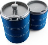 GSI Personal Java Press Campingservies en keukenuitrusting blauw